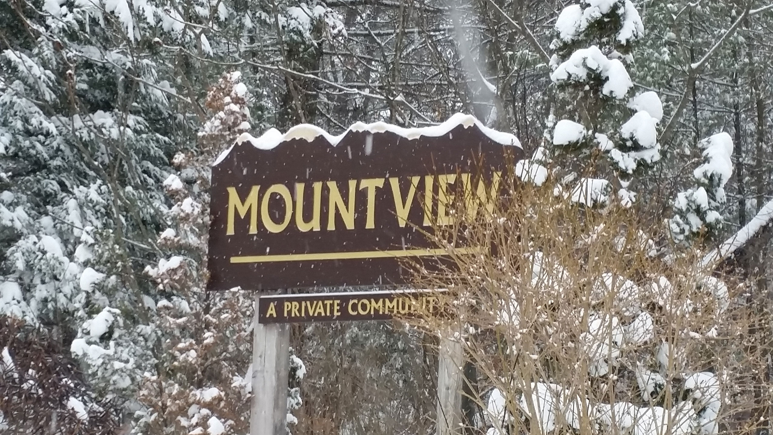 Mountview sign